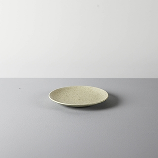 ROUND DISH _ 02 _ YELLOW