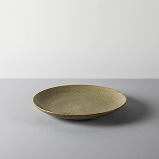 ROUND DISH _ 03 _ MAPLE