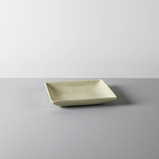 SQUARE DISH _ 02 _ YELLOW