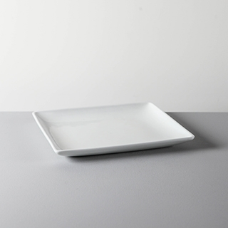 SQUARE DISH _ 03 _ WHITE