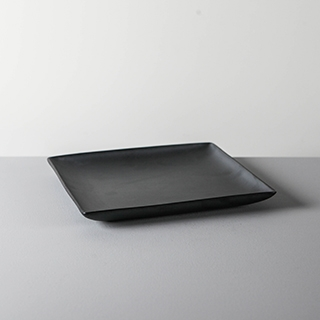 SQUARE DISH _ 03 _ BLACK